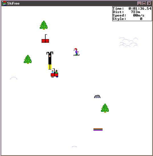 Play SkiFree Online